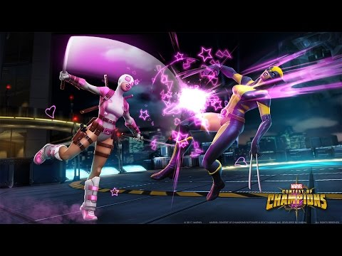 Marvel Contest of Champions Gwenpool Spotlight